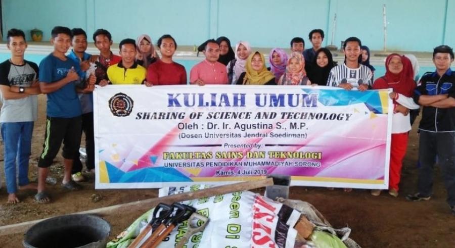 Kunjungan Pakar Peternakan UNSOED ke Fakultas SainsTek UNIMUDA